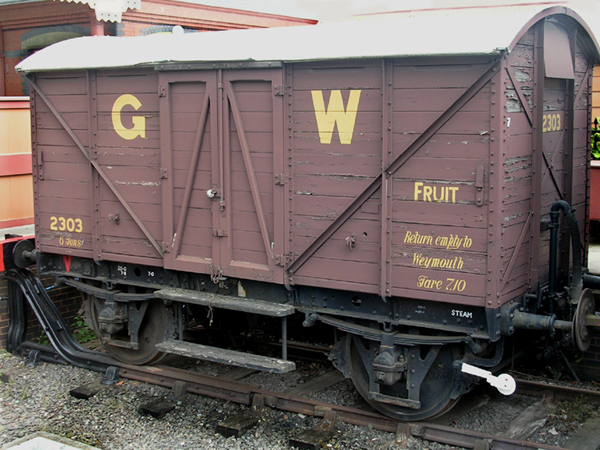 GWR 2303 Fruit Van